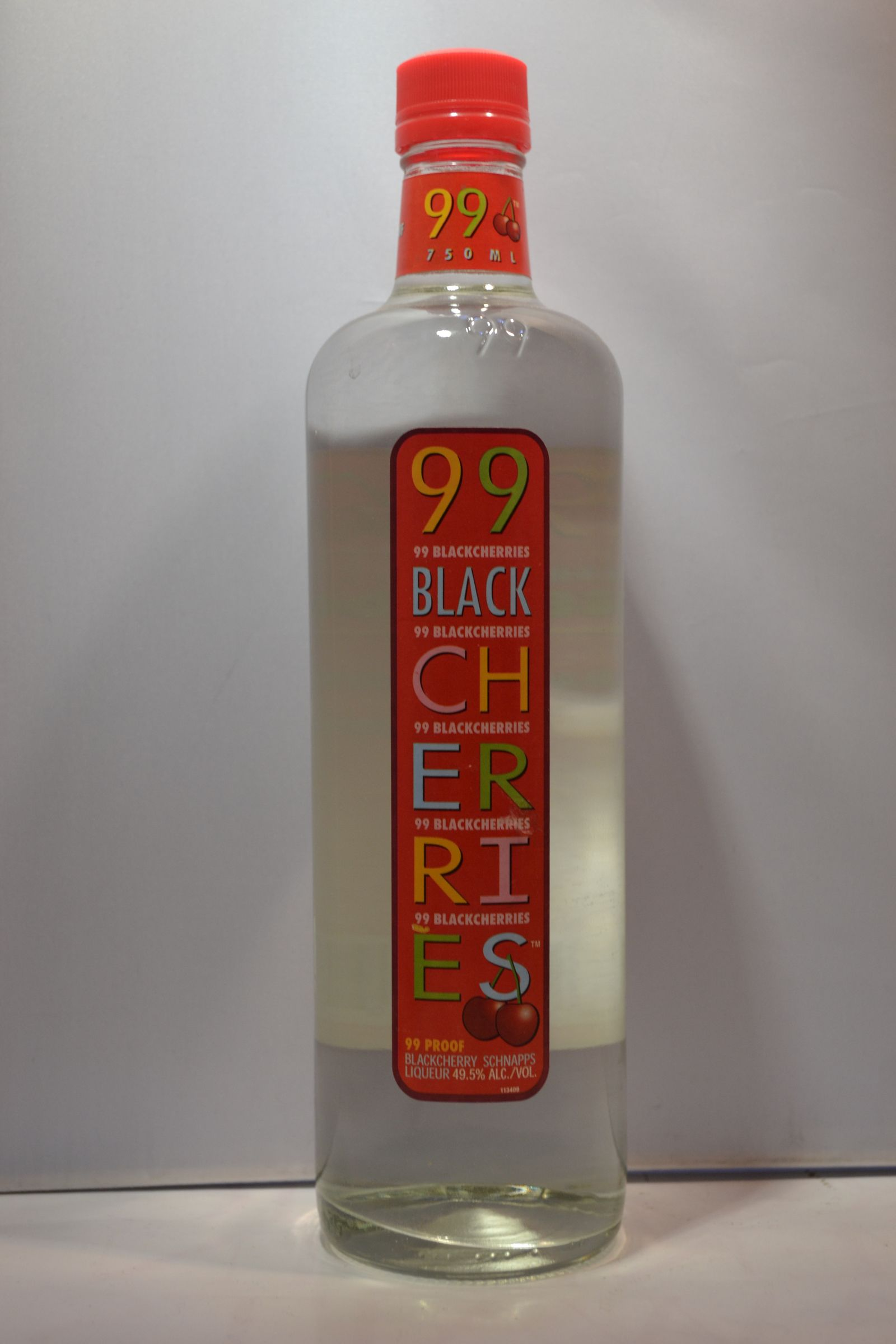 99 SCHNAPPS BLACK CHERRIES 99PF 750ML