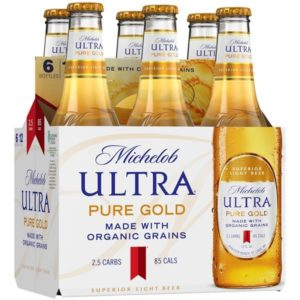 Michelob Ultra Pure Gold 6PKB 12 OZ