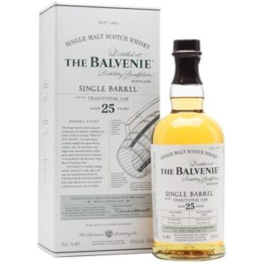 Balvenie 25 Yr Old Single Barrel Traditional Oak