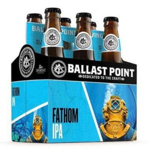 Ballast Point Fathom IPA 6PK 12 OZ