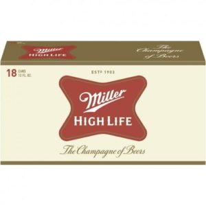 Miller High Life 18PKC 12 OZ