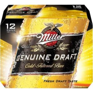 Miller Genunie Draft 12PKC 12 OZ