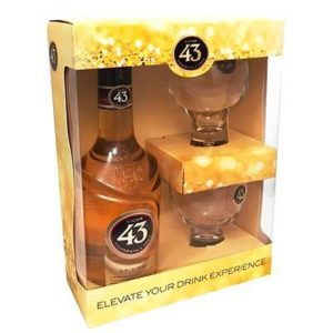 Licor 43 Cuarenta Y Tres Gift Sets 750ml