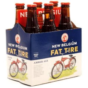 New Belgium Fat Tire Amber Ale 6PKB 12 OZ