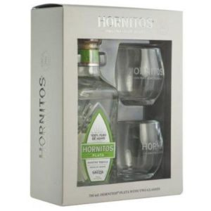 Sauza Hornitos Reposado Gift Set 750ml