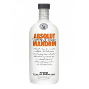 Absolut Manderin Vodka 750ml