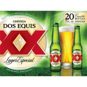 Dos Equis Xx Lager 20PKB 7 OZ