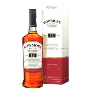 Bowmore 15 Yr Single Malt Scotch Whisky 750ml