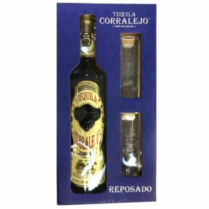 Corralejo Reposado Tequila W/Shots 750ml