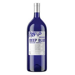 Deep Blue Russian Vodka 750ml