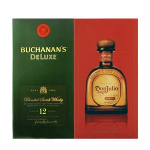 Don Julio Tequila & Buchanan's Co-Pack 375ml