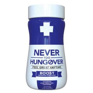 DrinkAde Hungover Relief 4 Pack 3.4oz (Blue)