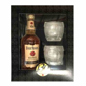 Four Roses Kentucky Bourbon Gift Set 750 ml