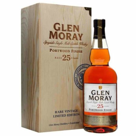 Glen Moray 25 Yr Scotch Whisky 750ml
