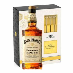Jack Daniel's Tennessee Honey Gift Set 750ml