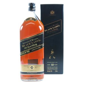 Johnnie Walker Black Label 1.75 Liter