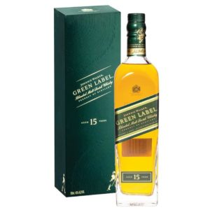 Johnnie Walker Green Label 15 Yr Blended Scotch 750ml