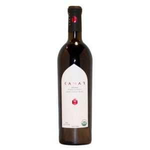 Kamar Organic Pomegranate Semi Sweet Wine 750ml