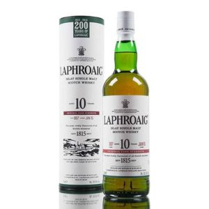 Laphroaig 10yr Cask Strength Single Malt Scotch 750ml