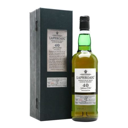 Laphroaig 40 Yr Single Malt Scotch Whisky 750ml