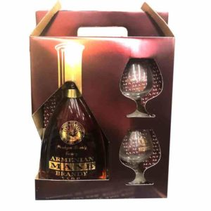 Mane VSOP Armenian Brandy Gift Sets 750ml