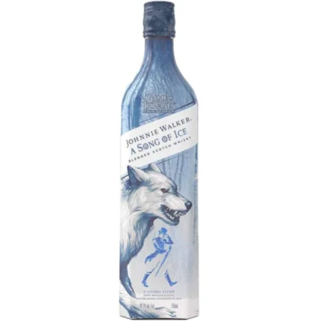 """Game of Thrones Johnnie Walker """"Song Of Ice"""" Scotch Whisky 750ml"""