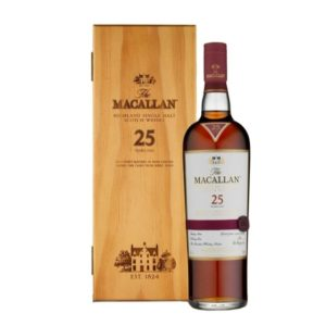 The Macallan 25 Yr Scotch Whisky 750ml