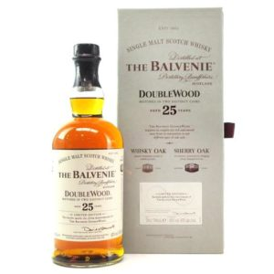 The Balvenie 25 Yr DoubleWood 750ml