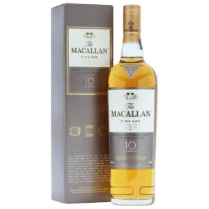 The Macallan 10 Yr Fine Oak Scotch Whisky 750ml