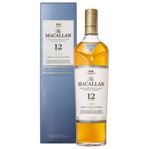 The Macallan 12 Yr Triple Cask Whisky 750ml