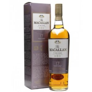 The Macallan 17 Yr Fine Oak Scotch Whisky 750ml