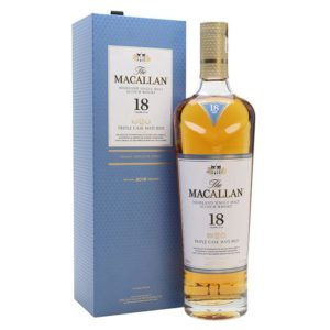 The Macallan 18 Yr Triple Cask Whisky 750ml