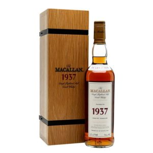 The Macallan 1937 Fine & Rare 750ml
