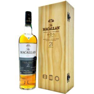 The Macallan 21 Yr Fine Oak Scotch Whisky 750ml