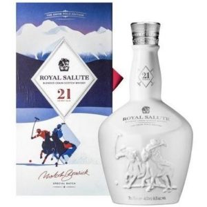 Chivas Regal Royal Salute 21 Yrs Snow Polo Edition
