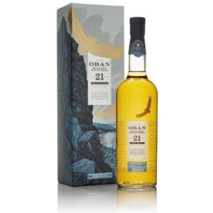 Oban Single Malt Whiskey 21 Yr