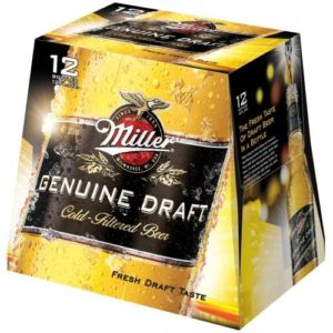 Miller Genuine Draft 12PKB 12 OZ