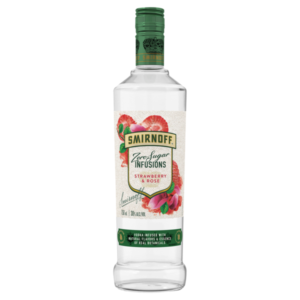 Smirnoff Infusions Strawberry/Rose Zero 750ml
