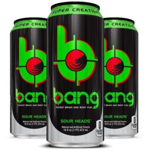 Bang Sour Heads Energy Drink 16 OZ