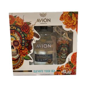 Avion Silver Tequila Gift Set 750ml