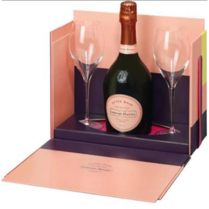 Laurent-Perrier Cuvee Rose Wine Gift Set 750ml